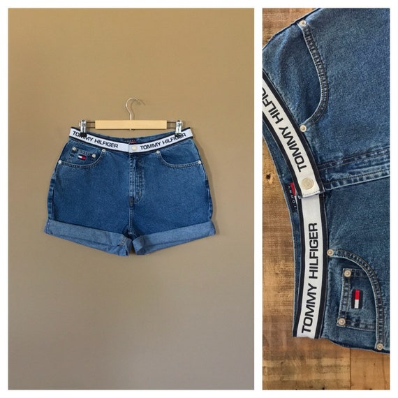 "31"" High Waisted Tommy Hilfiger Shorts/Vintage Tom"