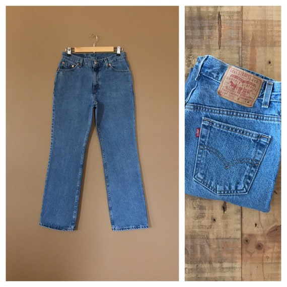 """29"""" Levis High Waisted Jeans/ Levis 550/90s Jeans/"""