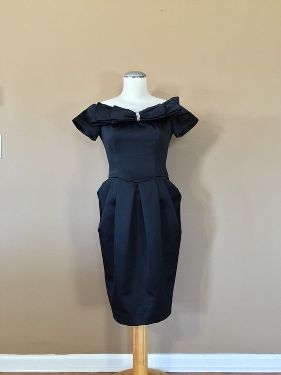 Stunning 80s Prom Dress / 80s Party Dress / Prom D