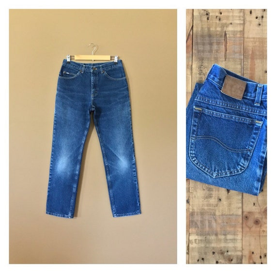"30/31"" Lee High Waisted Jeans Women/90s Lee Jeans/"