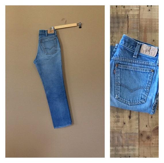 """30"""" Levis 557 Vintage Jeans Women's / 90s Levis Je"""