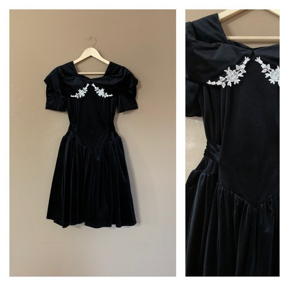 80s Prom Dress 90s Prom Dress / 80s Party Dress /