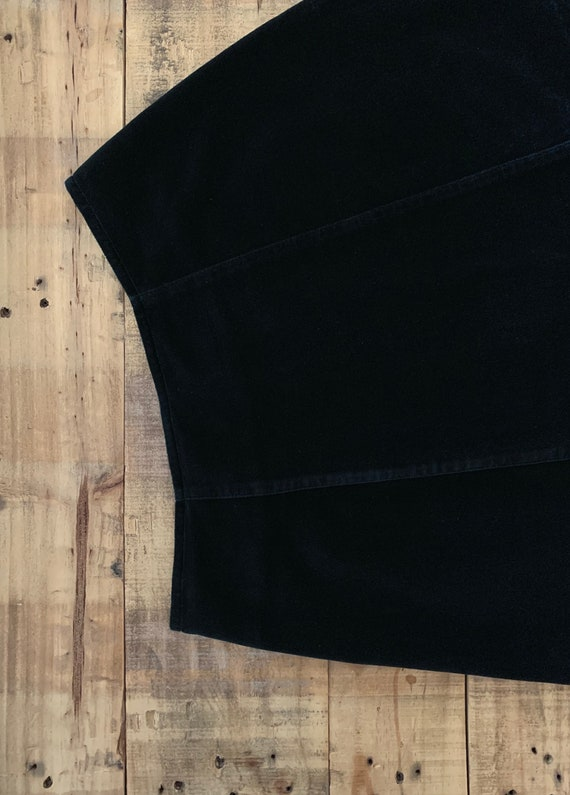 """25"""" Black Guess Skirt High Waisted / 90's Guess V… - image 3"""