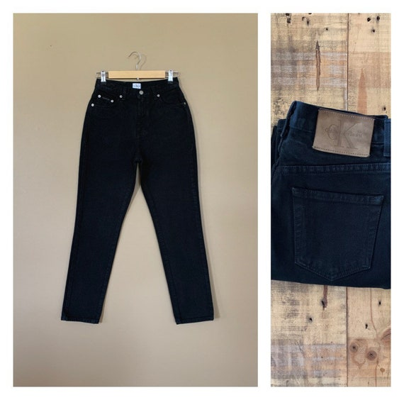 "27"" Calvin Klein Jeans High Waisted / 90's High Wa"