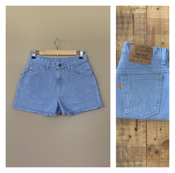 "29"" Levis Shorts High Waisted Denim/Levis Shorts/9"