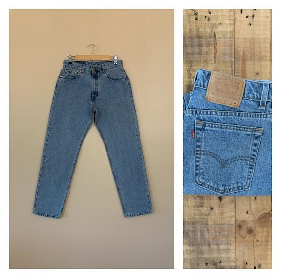 "31""/32"" Levis High Waisted Jeans / Levis 555 Distr"