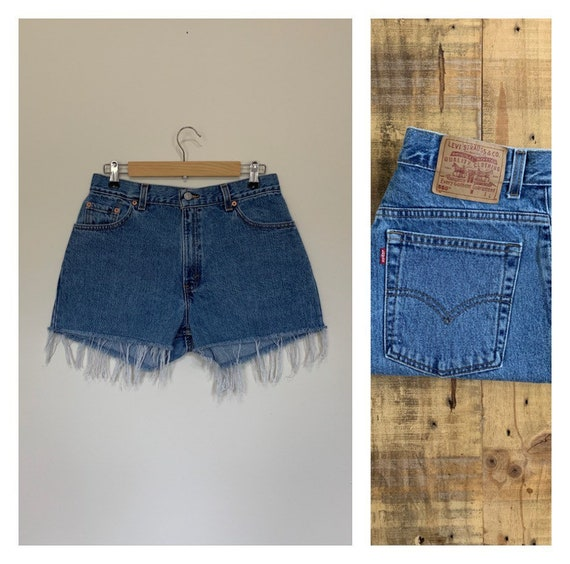 """31/32"""" Levis High Waisted Shorts/Levis Shorts/90s"""