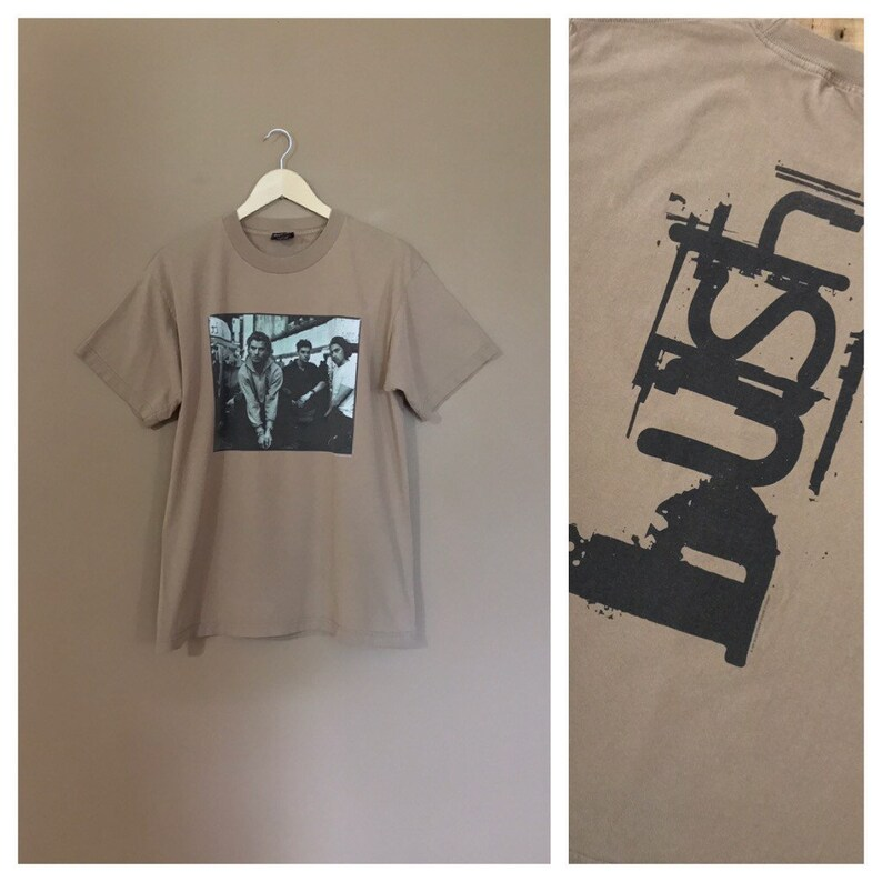 208d8421d1073 Vintage 90's Bush Band T-Shirt / 90s Tshirt / Band Tee / Band Shirt / 90s  Grunge Shirt / Band Shirt / 90s tshirt /90s clothing