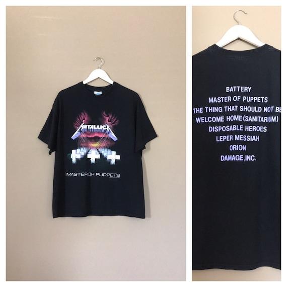 1994 Metallica Band Tee / Rock Tee / Band T shirt