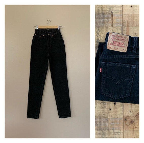 """23/24"""" Levis 512 Jeans High Waisted / 90s Slim Fit"""