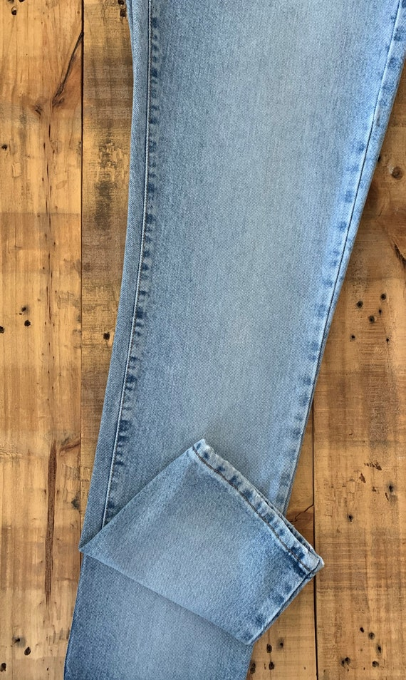 """28"""" Calvin Klein Jeans Button Fly High Waisted / … - image 7"""