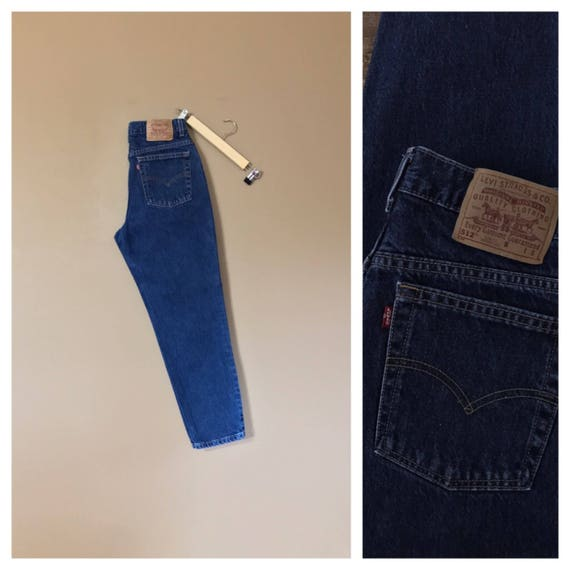"""28"""" Levis High Waisted Jeans/ Levis 512 /90s Jeans"""