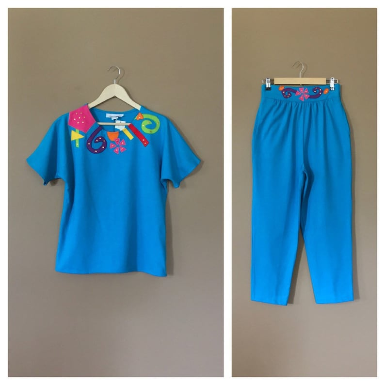 Two Piece 90s Outfit 90s Outfit 90s Hip Hop Clothing 80s Etsy
