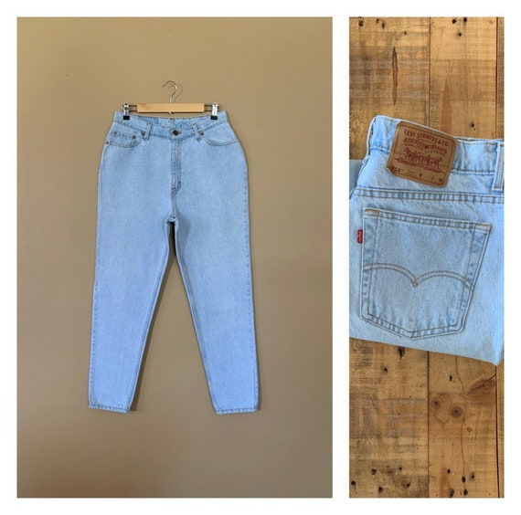 """32"""" Levis High Waisted Jeans / Levis 512 Size 15 /"""