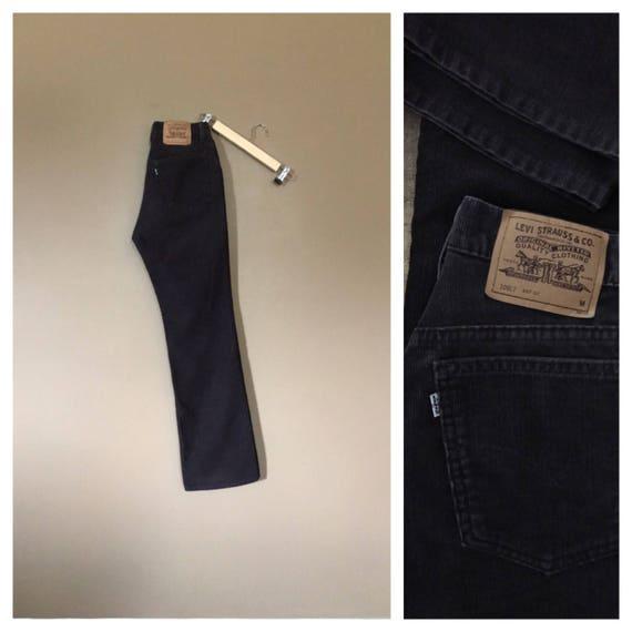90's Levis Corduroy Pants High Waist / Womens Cord