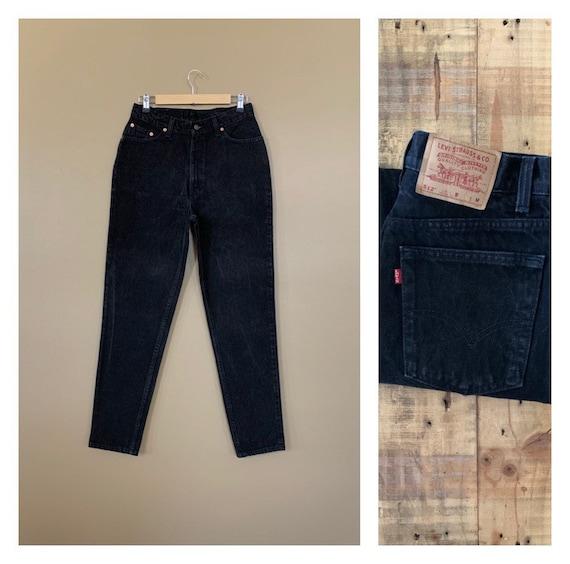 "30"" Levis 512 Jeans Black Slim Fit Tapered Leg/Lev"