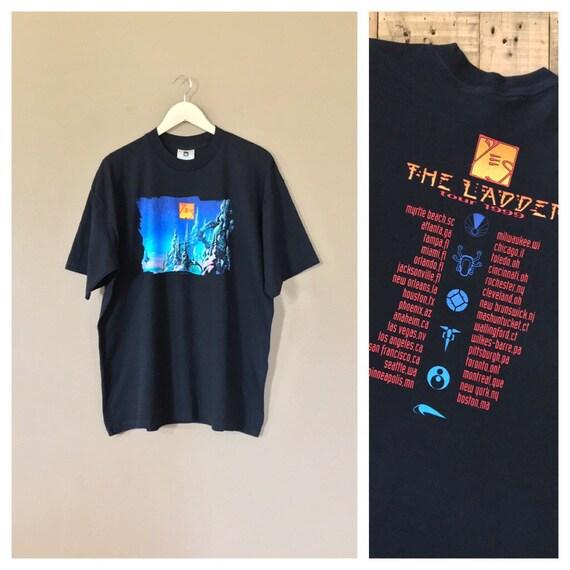 Vintage Yes Band T-Shirt / 90s Band Tshirt / Band