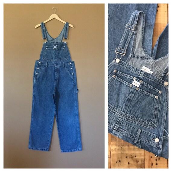luonteen kengät sulavalinjainen Sells 90s Calvin Klein Overalls Medium / Denim Overalls /90s Clothing /90s  Overalls / Bib Overalls / 90s Hip Hop Clothing