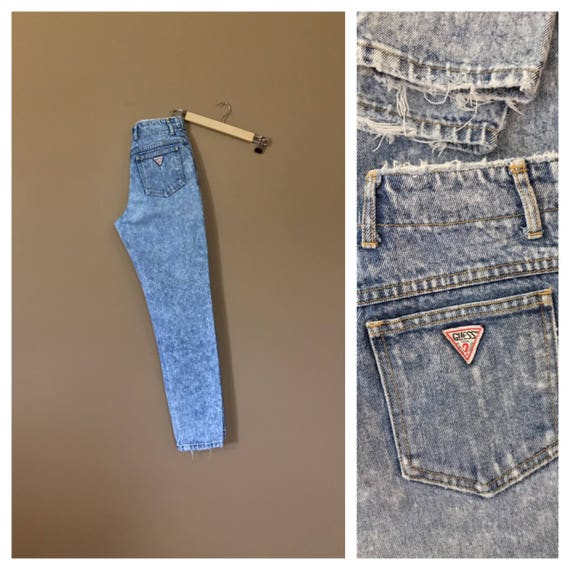 Waist 28 Guess High Waisted Jeans/Guess Jeans/90s