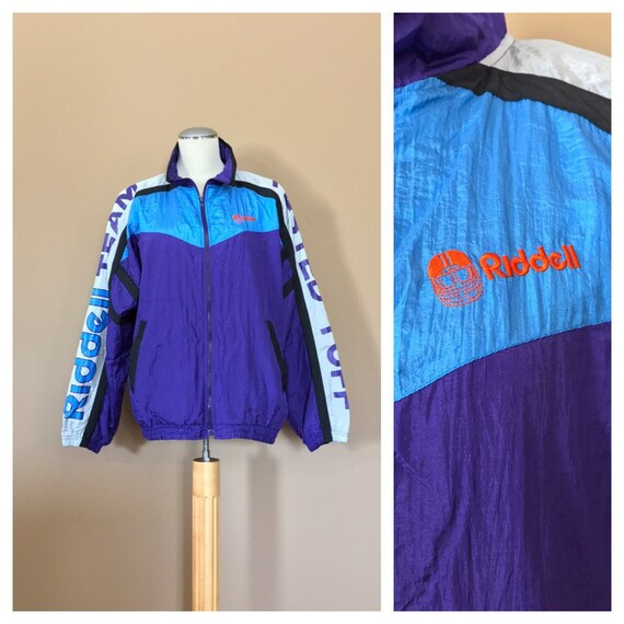 1990s Oversized Windbreaker / 90s Hip Hop Clothing