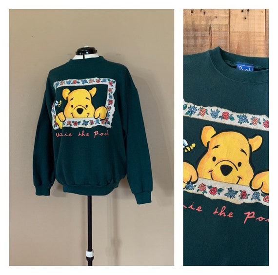 90's Pooh Sweatshirt Large / 90s Disney Sweatshirt