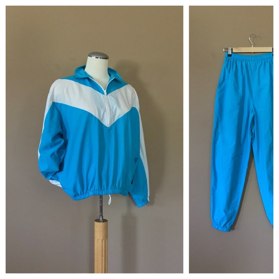 90s Windbreaker Suit Women/ 90s Windbreaker / 80s