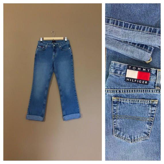 Tommy Hilfiger Jeans / High Waisted Jeans / 90s Je