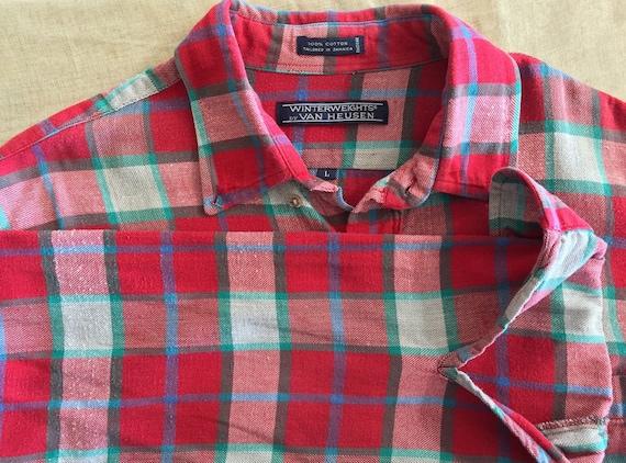 Flannel Shirt / Oversized Grunge Flannel / 90s Fl… - image 2