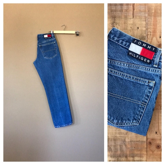"29"" Tommy Hilfiger Jeans / High Waisted Jeans / 90"