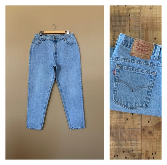 """34/35"""" Levis High Waisted Jeans Tapered / Levis 55"""