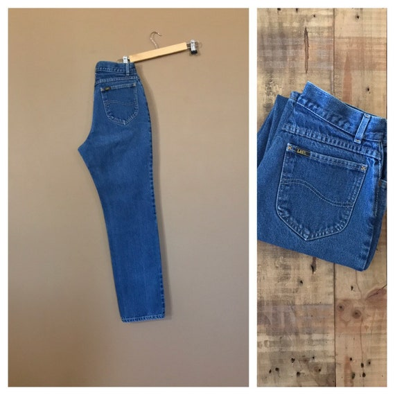 "26"" Lee High Waisted Jeans/90s Jeans/Vintage High"