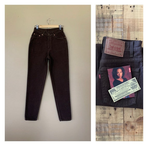 """27/28"""" Levis 512 High Waisted Jeans/90s Jeans/Vint"""