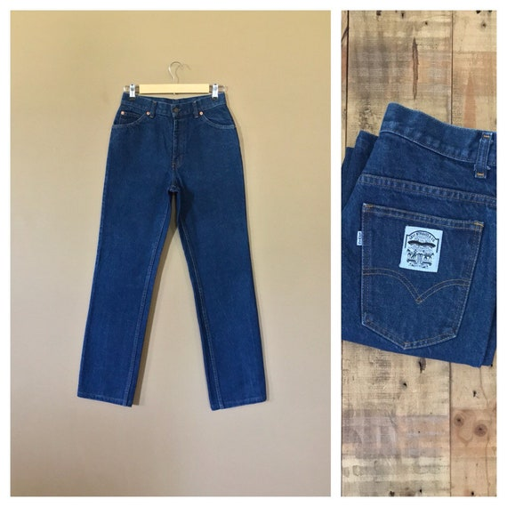 """26""""/27"""" Levis High Waisted Jeans/90s Jeans/Vintage"""