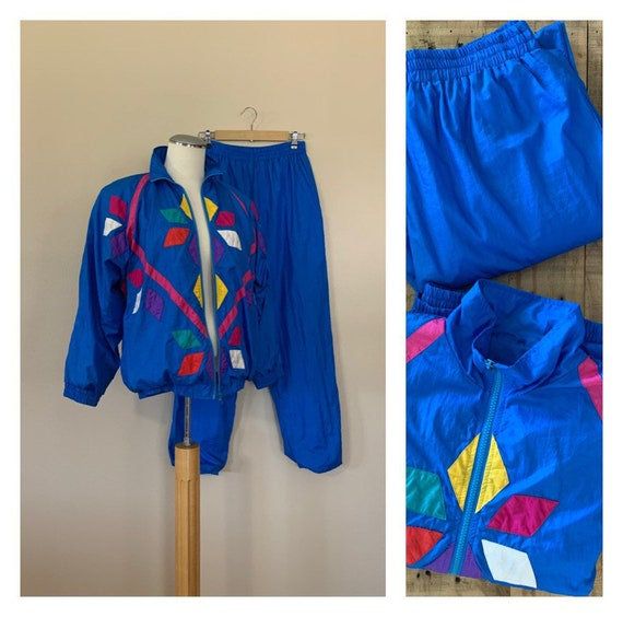 90's Windbreaker Suit Track Suit Medium / 90's Win