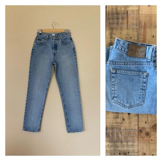 "28"" Calvin Klein Jeans Button Fly High Waisted / 9"