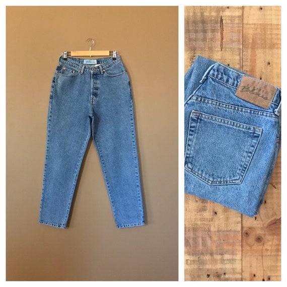 "29"" High Waisted Jeans/ Button Fly High Waisted Je"