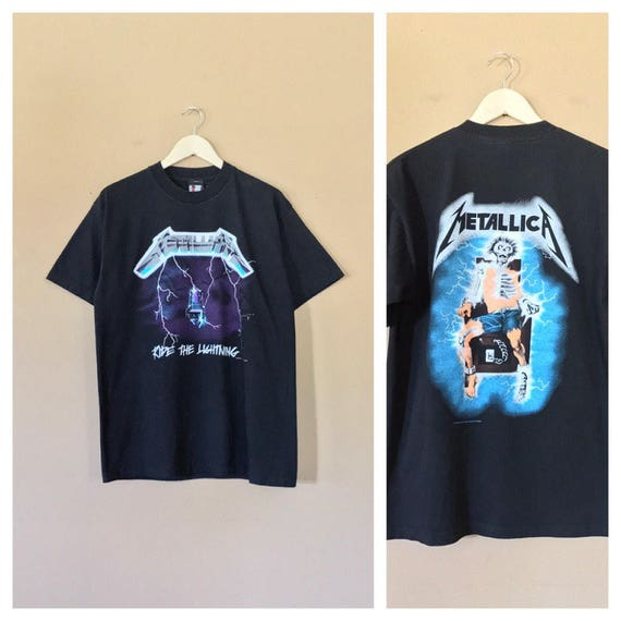 1994 Metallica Shirt / Pearl Jam Shirt / Band T sh