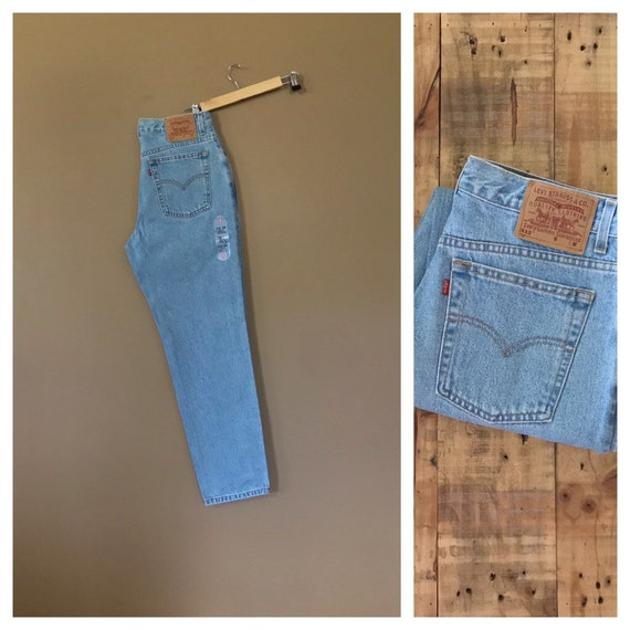 """33"""" Levis 512 High Waisted Jeans/ Levis 550/90s Je"""