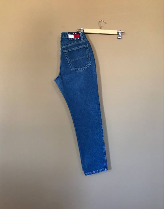"27"" Tommy Hilfiger High Waisted Jeans / 90s Tommy… - image 6"
