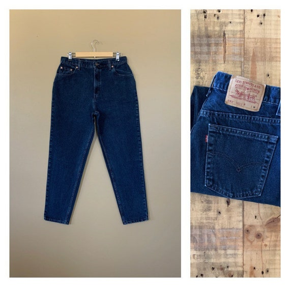 """33"""" Levis High Waisted Jeans Tapered / Levis 551 /"""