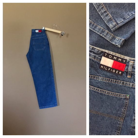 "31"" Tommy Hilfiger Jeans High Waisted / 90s Tommy"