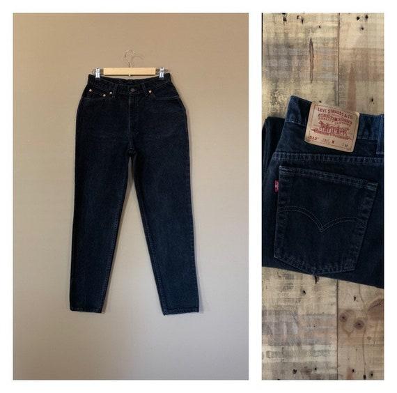 "30"" Black Levis Jeans 512 Slim Fit Tapered Leg/Lev"