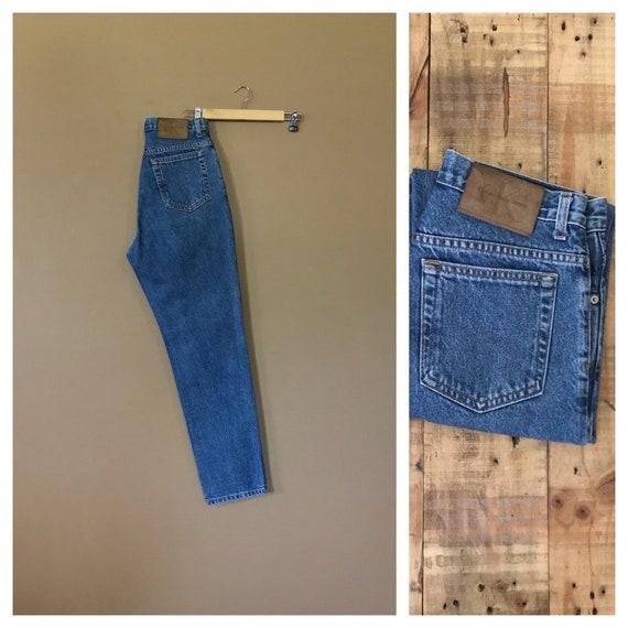 "Waist 30"" High Waisted Jeans/ Calvin Klein High Wa"