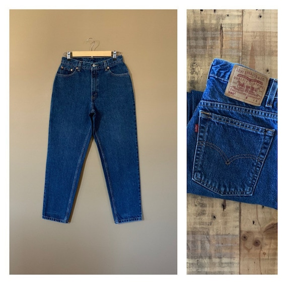 """29"""" Levis High Waisted Jeans Tapered / Levis 550 /"""