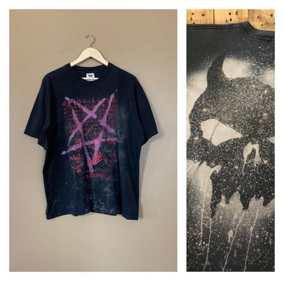 90's Vintage Band T-Shirt XLarge / Oversized Grung