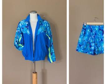 90s Windbreaker Suit / 90s Windbreaker / 80s Windbreaker / 80s Clothing / 90s jacket / 80s Jacket / 90s Clothing / 90s Track Suit /