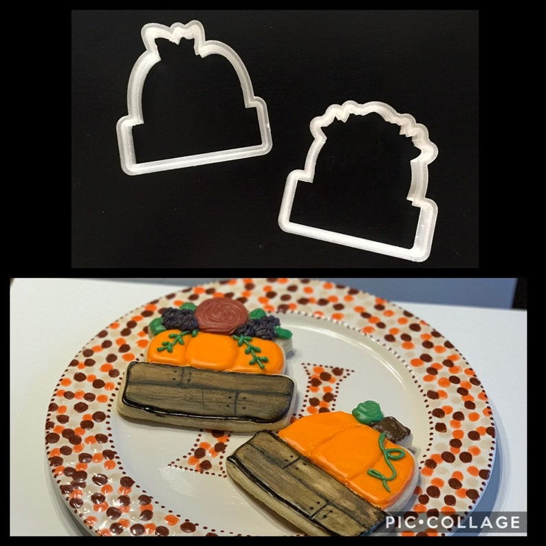 Custom Cookie Cutters- 3D Printed- FDA approved food safe plastic- Any size  Any shape