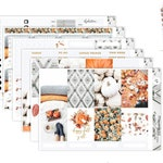 Happy Fall || Weekly Planner Sticker Kit|| for Erin Condren Vertical Layout ||