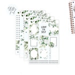 Love Yourself- FOILED KIT   ||Weekly Planner Foiled Sticker Kit|| for Erin Condren Vertical Layout ||