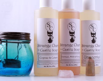 Castile Soap, Liquid Soap, Vegan Soap, Hand Soap, Palm Free Soap, Unscented soap, Castile hand soap, Natural Soap, Olive Oil Soap, Body Wash